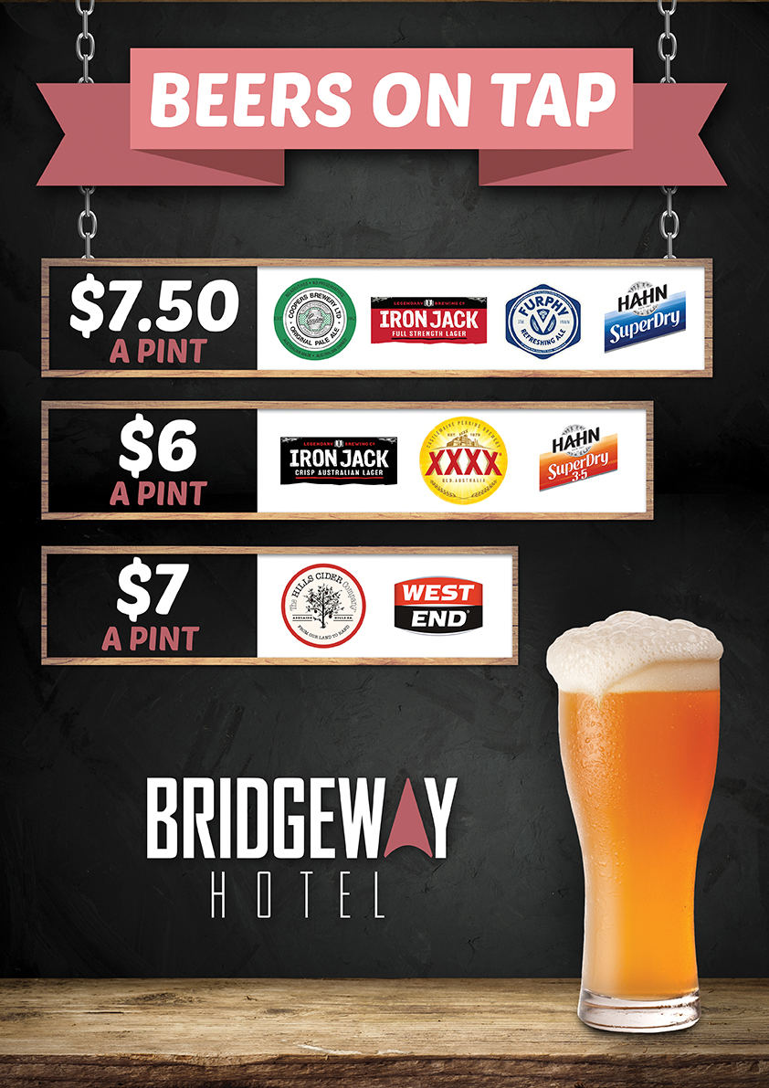 Bridgeway Beer Specials
